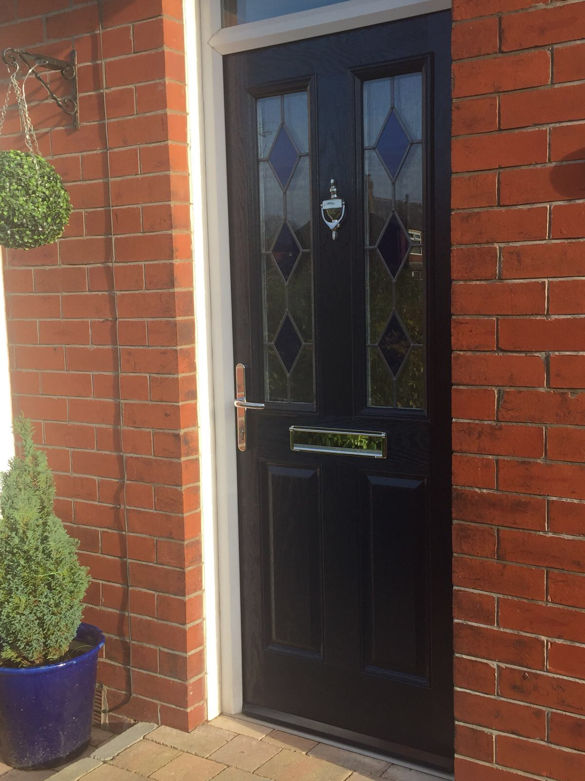 Charmant A Tired Front Door Brought Back To Life! Unfortunately Our Clients Fully  Functional Composite Door Had Lost Its Colour And Needed Some TLC.